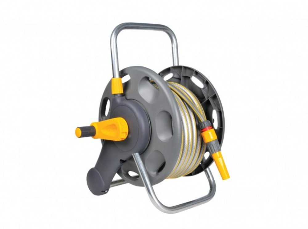 HOZELOCK 2-IN-1 25M HOSE INCUDING COMPACT REEL