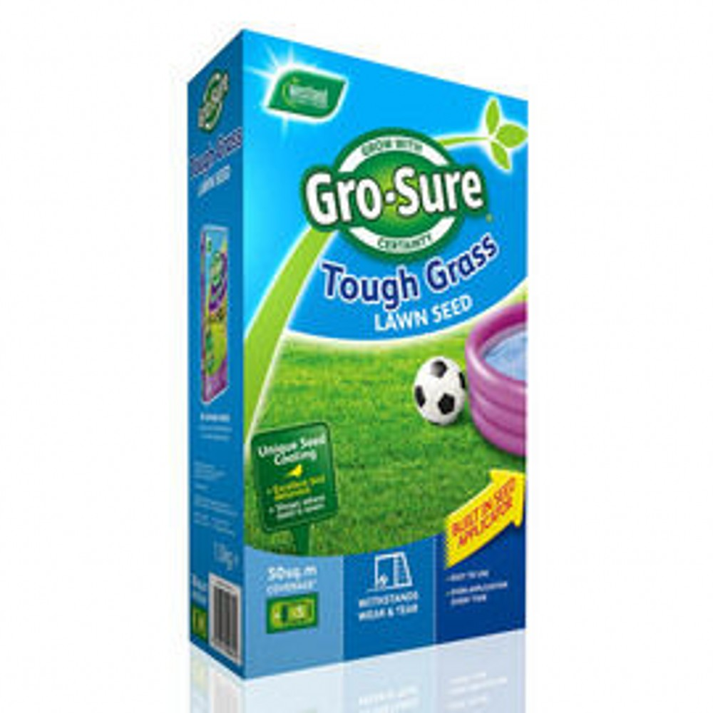 GRO-SURE TOUGH GRASS LAWN SEED 450G