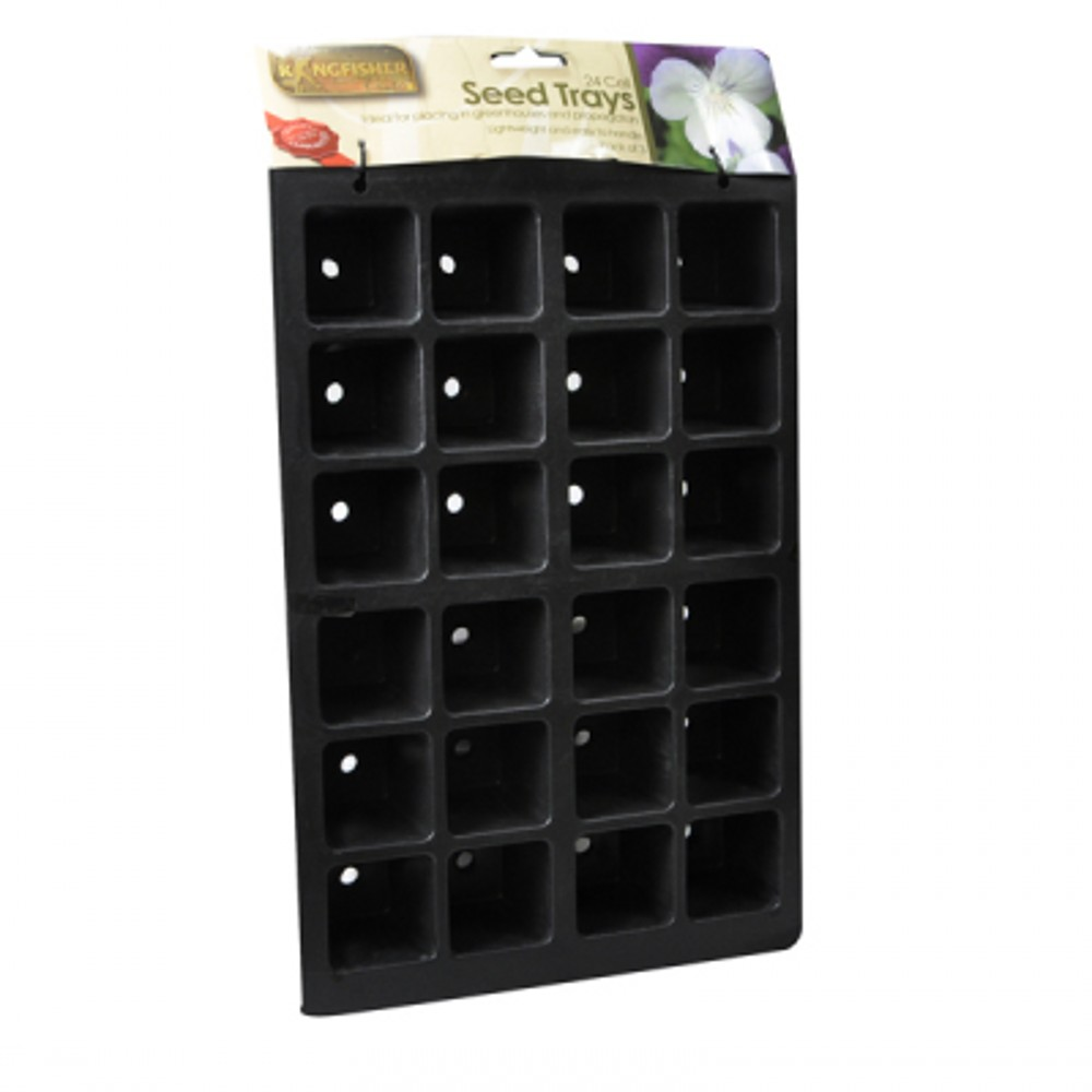 33CM(13IN) 3 PACK 24 CELL SEEDLING TRAY ST200